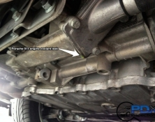 Porsche engine coolant leak