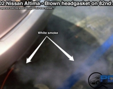 Failed head gasket