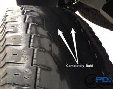 Abnormal tire wear