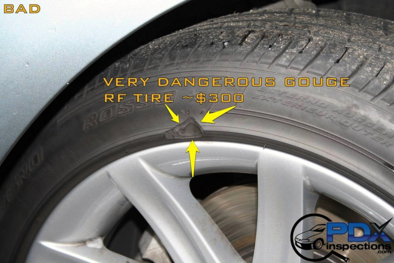 Abnormal tire wear