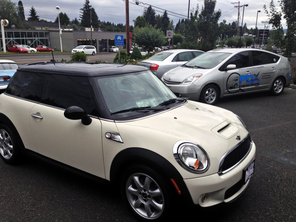 2009 mini cooper with a blown head gasket think new cars don 39 t need to be inspected think. Black Bedroom Furniture Sets. Home Design Ideas