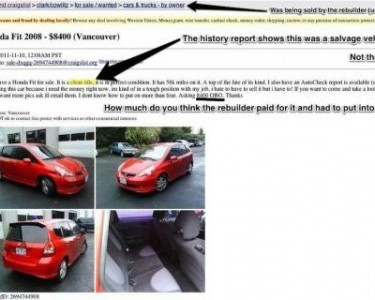 Craigslist car fraud Portland
