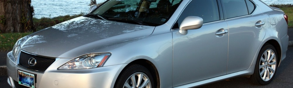 We're selling our 2008 Lexus IS250 AWD – PDXinspections Certified